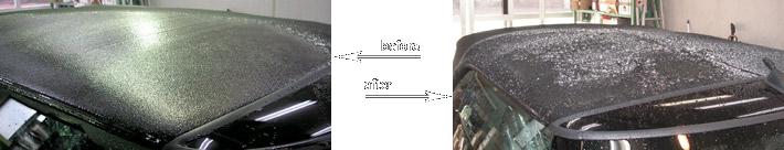 幌のために開発された高分子フッ素を使用