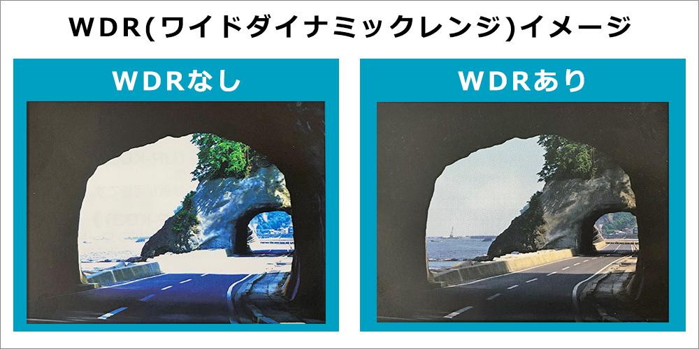 WDR(ワイドダイナミックレンジ)搭載|セラミックプロ|福岡の車のコーティング