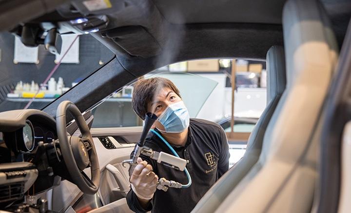 車内のクリーニング|佐賀のコーティング(ガラスコーティングやセラミックコーティング)
